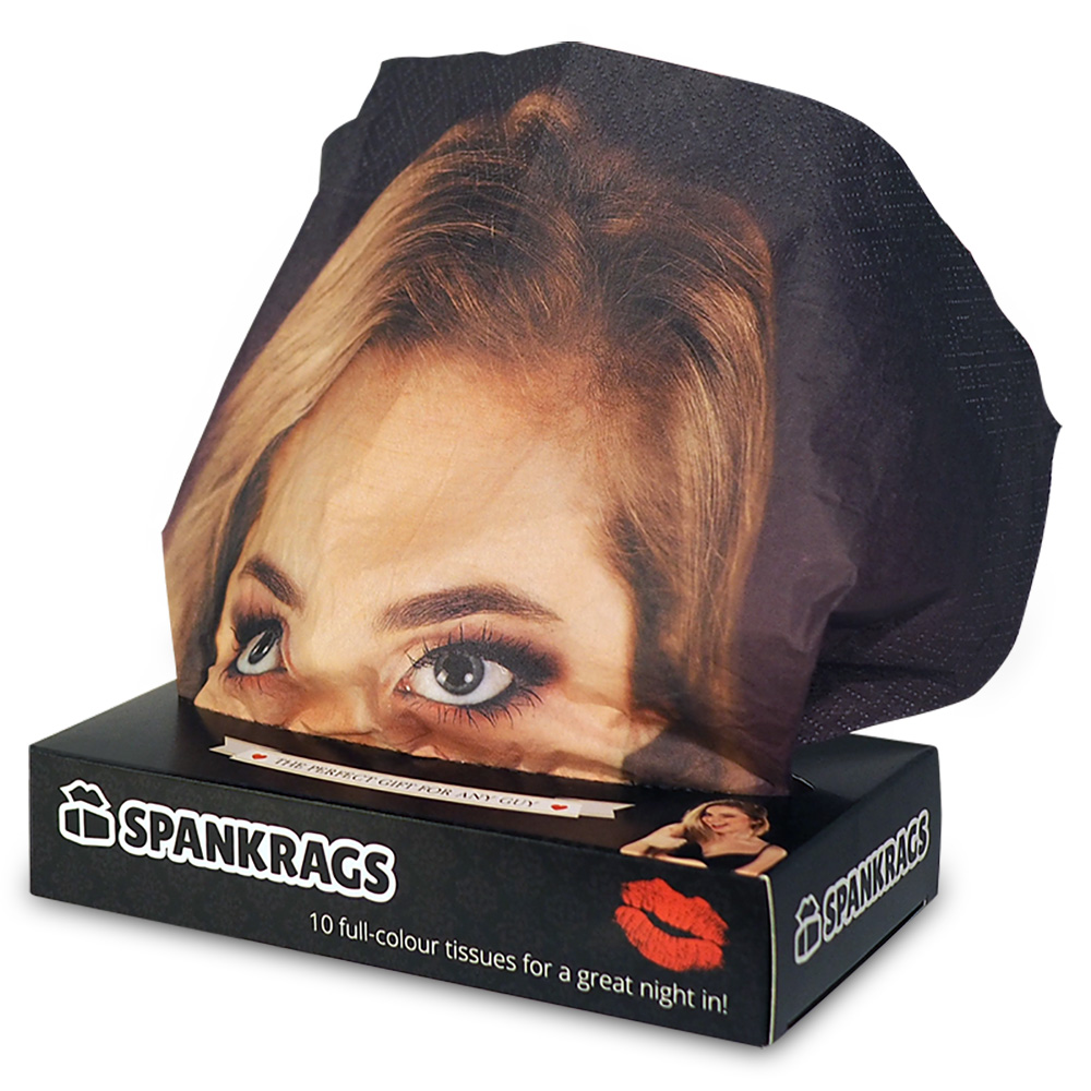 A box of Spankrags, the best bachelor present or birthday gift for a man.